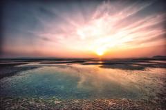 Bangsai Beach, Phuket (Soiparadize) Tags: ocean travel sun beach clouds sunrise landscape thailand sand glow sony halo oceanside phuket f4 travelphotography travelphotos landscapephotography amazingthailand a7r bangsai thailandphotography bangsaibeach thailandonly sony1018mm sonya7r ilce7r