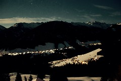 Alps Oberperfuss (Frikde) Tags: sky mountain snow alps night stars austria sterreich innsbruck  oberperfuss