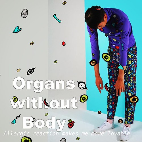 #organswithoutbody #owb #andyyen #sticker #allergicreaction #20152016SS #fashion #artintofashion www.organswithoutbody.com