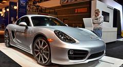 2016 Porsche Cayman S (Chad Horwedel) Tags: chicago illinois porsche sportscar chicagoautoshow mccormickplace caymans porschecaymans 2016porschecaymans cas2016
