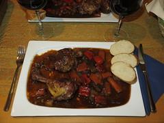 Coq au vin (mein Teller) (multipel_bleiben) Tags: essen gemse braten geflgel pfannengericht