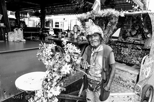 Rickshaw driver in Hua Hin, Thailand