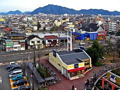 City of Central Japan :  (Dakiny) Tags: street city winter rooftop japan landscape january gifu kakamigahara 2007
