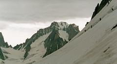 Corde  la Petite Verte (Yvan LEMEUR) Tags: mountain montagne alpes glacier chamonix montblanc alpinisme hautesavoie argentire aiguilleverte corde massifdumontblanc hautemontagne petiteverte glacierdumilieu