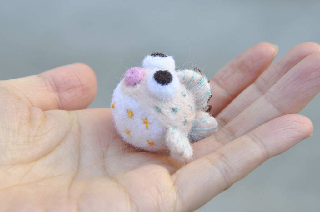 Amigurumi Puffer Fish : The Worlds most recently posted photos of etsystore and ...