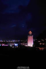 Magic Tower (Ed.ward) Tags: glastonbury england somerset festival glastonburyfestival music musicfestival pilton worthyfarm magictower dark lights 2015 nikond700 nikonafnikkor20mmf28 ce:photo=7497