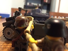 Schreck is love (ranger3181) Tags: world 2 two brick infantry germany army war lego painted nazi ss helmet camo mining collection equipment german prototype figure ww2 second soldiers guns uniforms custom weapons proto wehrmacht waffen brickarms panzerschreck brickmania brickrepublic unitedbricks