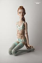 Popovy new lingerie (UrsiSarna) Tags: fashion hand little mint lingerie made owl ursi ecru sarna popovy