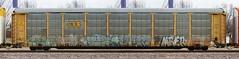 Reke/Erupto/Jase/Apart/Mber/Necs (quiet-silence) Tags: railroad art train graffiti railcar ba graff hm freight jase gtb apart nsf csx erupto autorack stv mber fr8 reke fgs necs a2m