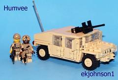 Humvee (ekjohnson1) Tags: afghanistan usmc modern army war lego m1 iraq tiny humvee abrams m4 ramadi carbine wwb moc tactical 2016 marpat 50cal cbday modcom brickarms brickfair bfal thehurtlocker tinytactical overmolded bfva citizenbrick