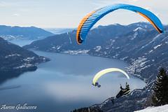 DSC09424 (aaron.galbusera) Tags: sky panorama mountain nature lago schweiz tessin ticino swiss natura svizzera ti celo luce ch parapendio cimetta cardada