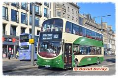 LOTHIAN BUSES 941 SN10DKL (SCOTTISH BUS ARCHIVES) Tags: 941 lothianbuses volvob9tl wrightgemini sn10dkl