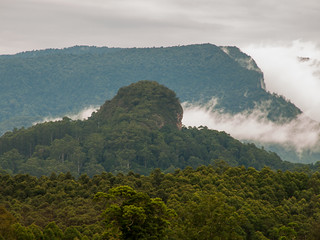 Border Ranges with Lillian Rock in Foreground