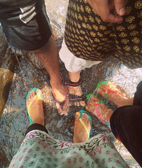 The feet photo (kavya c) Tags: people sun playing hot water warm colours district slippers visakhapatnam chappals lakshmipuram