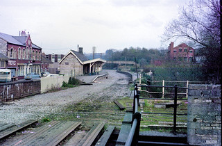 Radstock North station (1), 1977