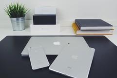 "MacBook Pro 13"" Retina, iPhone 6S & iPad Mini 4 #apple #appleaddict #ipadmini4 #iphone6s #macbookpro (armarian) Tags: apple square squareformat workspace setup macbookpro appleproducts iphoneography instagramapp iphone6s ipadmini4"