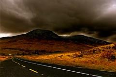 Don't be afraid to go forward (Marie.L.Manzor) Tags: road morning sky irish mountain storm nature clouds landscape nikon irland nikkor dramaticsky marielmanzor nikon610