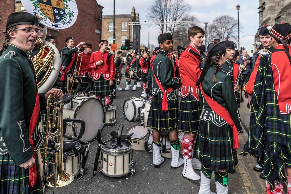 SHORECREST HIGH SCHOOL [ST. PATRICK'S PARADE IN DUBLIN 2016]-112236