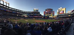 A panoramic view from my seat at Citi Field in New York (Hazboy) Tags: new york nyc ny game sports field sport baseball pano panoramic queens april mets mlb citi 2016 hazboy hazboy1