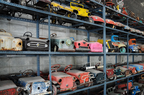 Kid's pedal cars