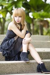 Li (leonlee28) Tags: portrait female asian model bokeh outdoor 85mm f18 naturallighting nikkorlens 85mmf18 lensblur primelens bokehlicious portraitlens 85mmbokeh fixlens leonlee28 leonlee nikkoraislens