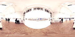 The Lady Sassoon Room... (»alex«) Tags: panorama art museum illustration painting photography kent libraries exhibition 360x180 360degrees equirectangular sassoongallery floff folkestonelibrary stillnonethewiser