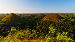 Chocolate Hills of Bohol (Hendraxu) Tags: morning green nature sunrise landscape dawn philippines hill hills bohol carmen chocolatehills
