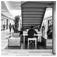 113/366 Piano Man (Sarah*Rose) Tags: music playing man piano streetphotography aberdeen unionsquare