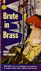 Gold Medal 595 _ Mitchell Hooks (uk vintage) Tags: goldmedal harrywhittington mitchellhooks goldmedalbooks bruteinbrass