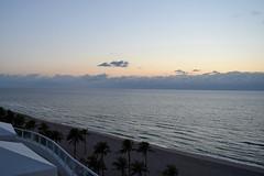Serenity (ChristopherSmith.Photo) Tags: trees clouds sunrise florida horizon calm palm serene