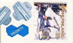 Finnland 3 (postcardlady1) Tags: stamp briefmarke