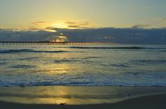 DSC_1637 (Eleu Tabares) Tags: california sunset sea beach water sunrise sand sandiego pacificocean