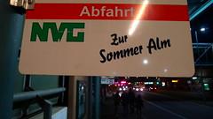 Zur Sommer Alm (viernullvier) Tags: sign deutschland schild saarland nk nvg neunkirchen neunkirchensaar