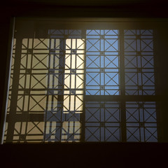 Light Through A Shade (nydavid1234) Tags: light shadow window grid nikon pattern shade tonal d600 nydavid1234
