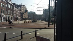Lazy Sunday in Den Haag (m_artijn) Tags: light station long shadows sunday den tram lazy nl haag hs