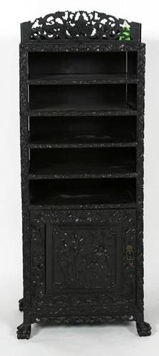 Fancy Oriental Music Cabinet - $302.50