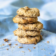 Cookies. Estudo de composio e luz. (Ed Andrade Jr.) Tags: cookie comida culinria foodphotography foodphotographers edandradejr fotografiadeculinria