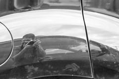 howdy (RubyT (I come here for cameradarie)) Tags: blackandwhite bw reflection blancoynegro film monochrome analog self mono monocromo pentax nb bn sp schwarzweiss kodaktmax400 pentaxmx blancetnoir explore158 pentaxlife justpentax pentaxart m85f2