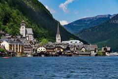 View of Hallstatt (Polymonochromist) Tags: lake austria see sterreich europa europe unescoworldheritage obersterreich salzkammergut hallstatt upperaustria hallstttersee