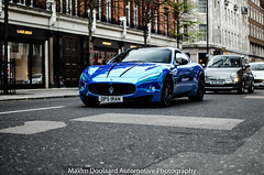 Maserati GranTurismo (Maxim Doolaard Automotive Photography) Tags: london chrome supercar maserati supercars granturismo maseratigranturismo supercarsoflondon