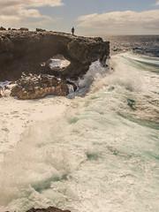 The Bridge in El Remo (Vladi Stoimenov) Tags: light vacation cloud white color nature water landscape nice nikon waves colours wave lapalma canaryislands vladi d610 nikonlens nikkor1424 vladistoimenov