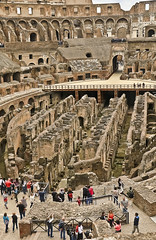 A2569ROMb (preacher43) Tags: italy rome history architecture outdoors arch roman arena emperor gladiator hypogeum colesseum