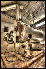 Boiler room (Fisheye Creation) Tags: urban colors brittany bretagne hdr urbex lorient bracketing