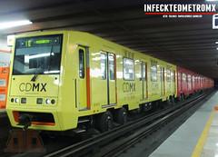 Alsthom C,N,C,F NM-73 B Cabina CAF Tezozomoc L-6 (infecktedmetromx) Tags: subway mexico df metro stc alstom caf l6 ciudaddemexico serieb ciudaddemxico alsthom rehabilitado cdmx cncf cddemexico concarril stcmetro metrodelaciudaddemexico nm73 nm73b alsthomcimt cabinacaf