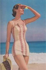 Celanese 1956 (moogirl2) Tags: retro vogue 50s 1956 vintageads celanese vintagefashions vintagevogue 50sfashions