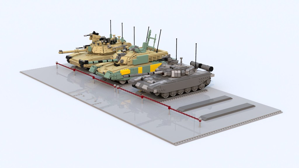 351e43a16cf8 MBT Collection (TheRookieBuilder) Tags  collection lego legodigitaldesigner  bluerender mbt mainbattletanks m1a2 challenger2 t90 · M1A2 Abrams ...