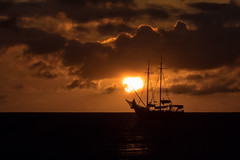 Sunset in Aruba (dwissman.photography) Tags: ocean sunset boat aruba sail