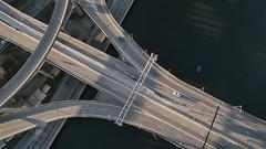 Albany NY (milfodd) Tags: urban ny bridges infrastructure april albany roads aerialphotography hdr drone 2016 dji quadcopter phantom3pro