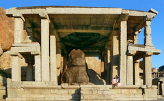 India - Karnataka - Hampi - Monolithic Bull - Nandi (asienman) Tags: india unescoworldheritagesite nandi karnataka hampi vijayanagara asienmanphotography