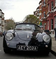 Porsche 356 (Jorge B.M) Tags: uk london classic porsche londres reinounido 356 clasicos unitedkindom